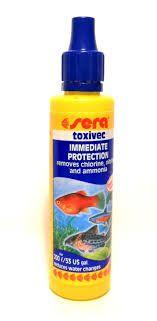 Condicionador De Água Sera Peixes Toxivec 50ml