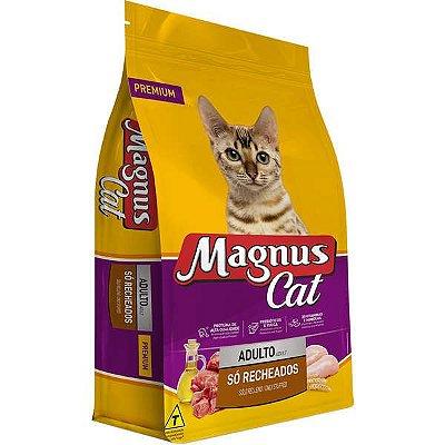 Magnus Cat Premium Gatos Adultos Mix Com Partículas Recheadas 15kg