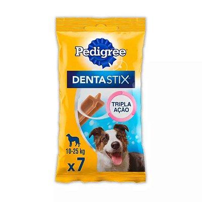 Petisco Pedigree Dentastix Cuidado Oral Para Cães Adultos Raças Médias 7 Un