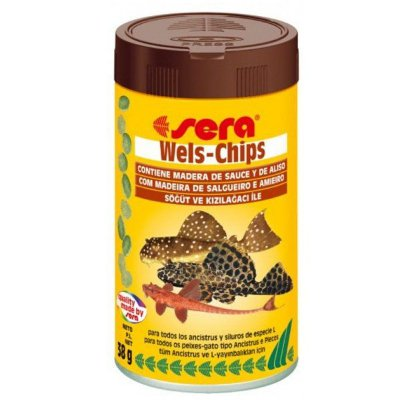 Ração Sera Wels Chips 38g