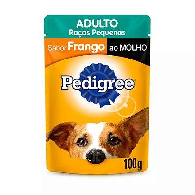 Ração Úmida Pedigree Vital Pro Para Cães Adultos De Raças Pequenas Sabor Frango Ao Molho - 100g