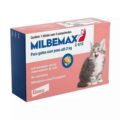 Vermífugo Milbemax Para Gatos 4/10mg
