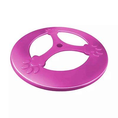 Brinquedo Furacão Pet Frisbee Pop Rosa para Cães