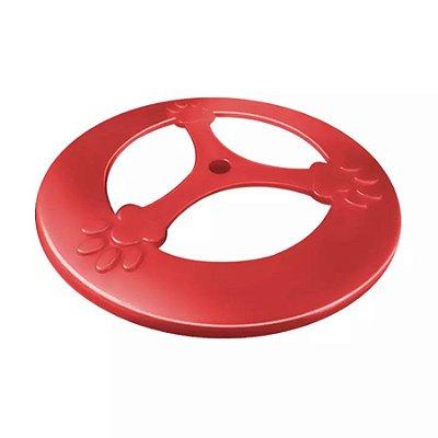Brinquedo Furacão Pet Frisbee Pop Vermelho para Cães