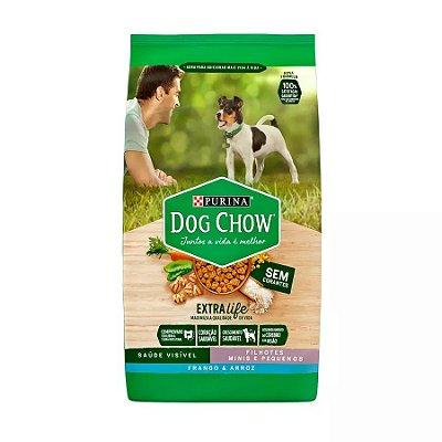 Ração Dog Chow para Cães Filhotes de Raças Pequenas Sabor Frango e Arroz 1kg