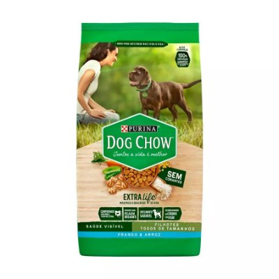 Ração Dog Chow para Cães Filhotes Sabor Frango e Arroz 3kg
