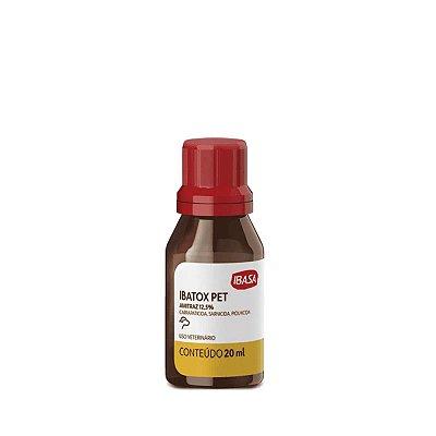 Ectoparasiticida Ibasa Ibatox Pet para Cães - 20 mL