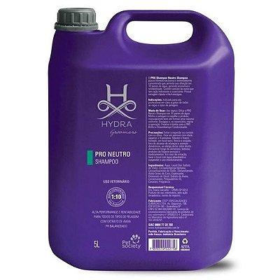 Shampoo Hydra Groomers Pro Pet Society Neutro 5 Litros