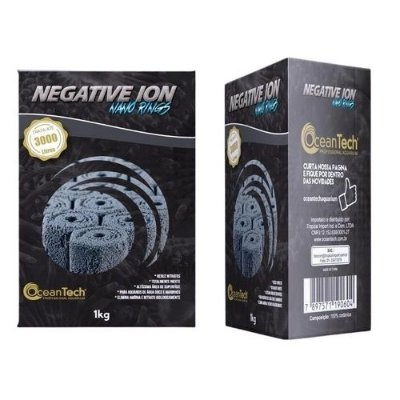 Mídia Biológica Negative Ion Nano Rings Ocean Tech - 1kg