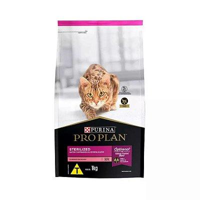 Ração Nestlé Purina ProPlan para Gatos Adultos Castrados Sabor Salmão 1kg