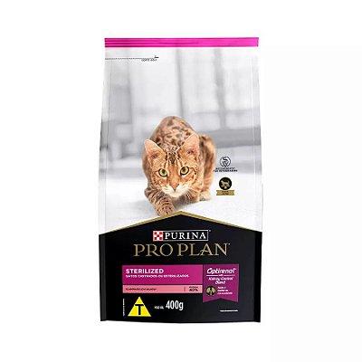 Ração Nestlé Purina ProPlan para Gatos Adultos Castrados Sabor Salmão 400g
