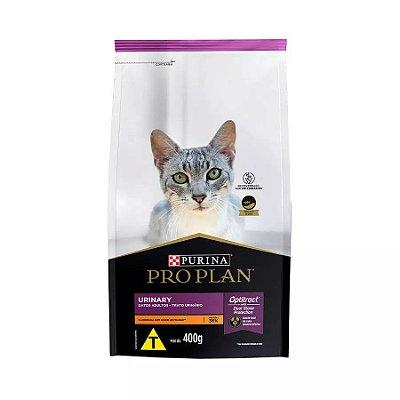 Ração Nestlé Purina ProPlan para Gatos Adultos Trato Urinário Sabor Frango 400g