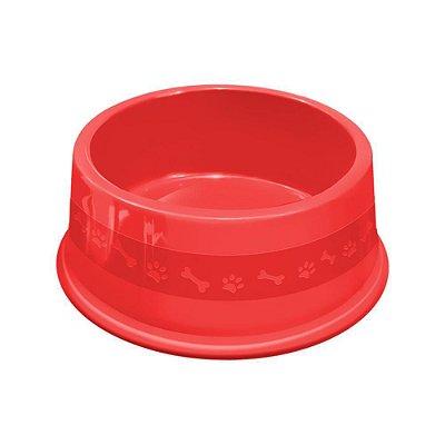 Comedouro Plástico P/ Cães Furacão Pet Cores Sortidas Nº 4 (1900ml)