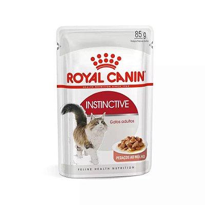 Ração Úmida Royal Canin Sachê Instinctive - Gatos Adultos - 85g