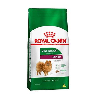 Ração Royal Canin Mini Indoor Cães Senior 2,5kg