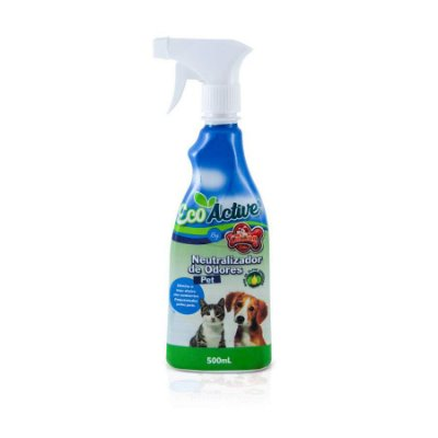 Eliminador de Odor Eco Active para Cães e Gatos 500ml