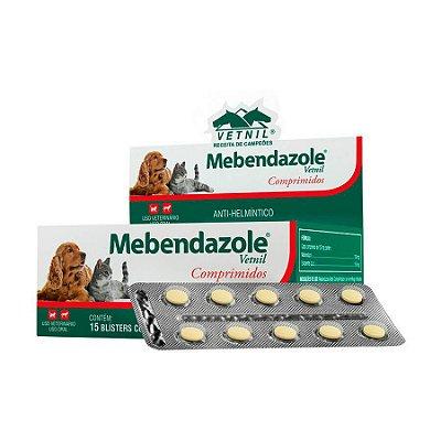 Vermífugo Vetnil Mebendazole com C/10 Un