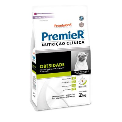 Ração Premier Nutrição Clínica Obesidade para Cães Adultos Raças Pequenas 2kg