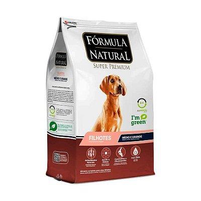 Ração Fórmula Natural para Cães Filhotes de Médio e Grande Porte 2,5KG