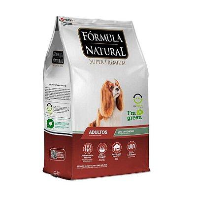 Ração Fórmula Natural para Cães Adultos Raças Mini 2,5kg