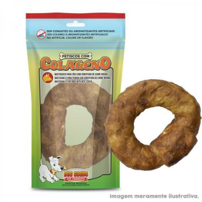 "Donuts 3,5"" com Colágeno e Cobertura de Carne Bovina 1 Un"