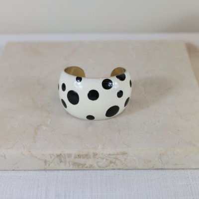 Bracelete Dots Color Nath - Branco e Preto