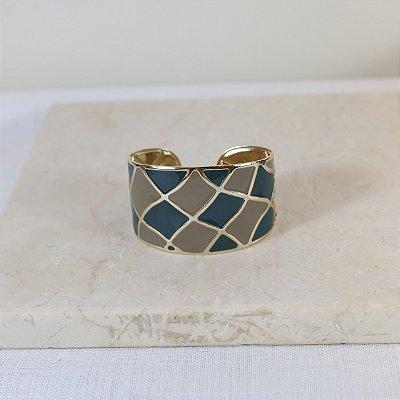 Bracelete New York Color Nath - Cinza e Azul