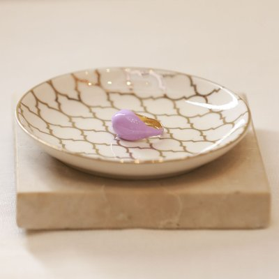Anel Candy Color Nath - Lilás