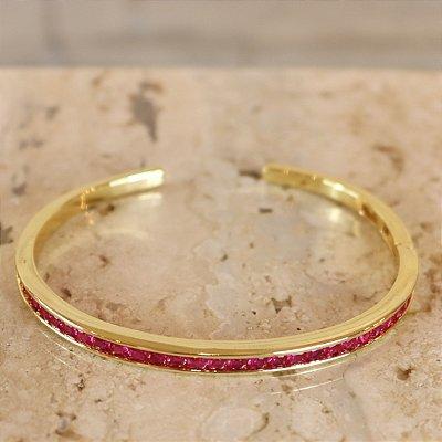 Bracelete Color - Vermelho