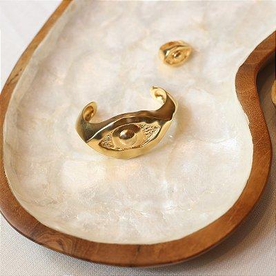 Bracelete Olho Egípcio - Dourado