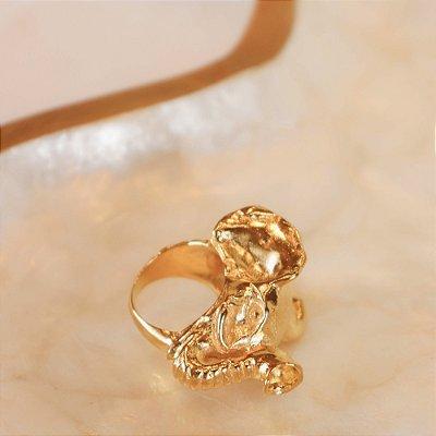 Anel Elefante - Dourado
