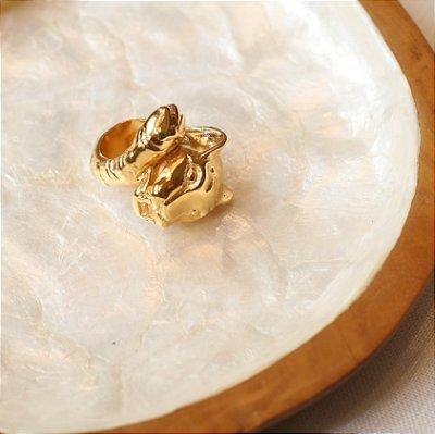 Anel Tigre - Dourado