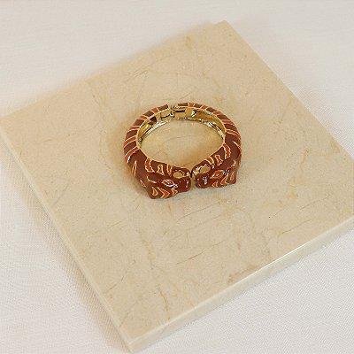 Bracelete Tigre - Caramelo c/ Tijolo