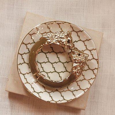 Bracelete Leão Max Maria - Cappuccino