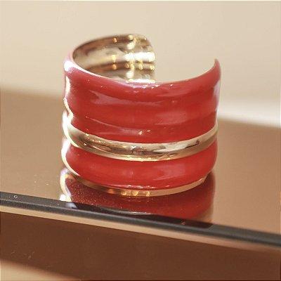 Bracelete Gomos Max Maria - Vermelho