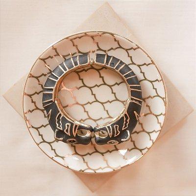Bracelete Tigre Max Maria - Preto Fosco
