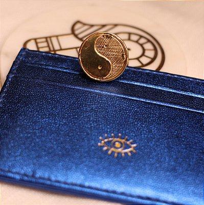 Carteira Porta Cartão - Azul