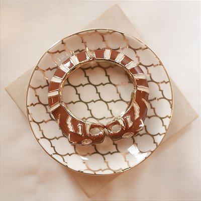 Bracelete Tigre Max Maria - Marrom e Bege
