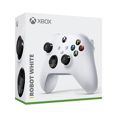 Controle Sem Fio Xbox Series Robot White