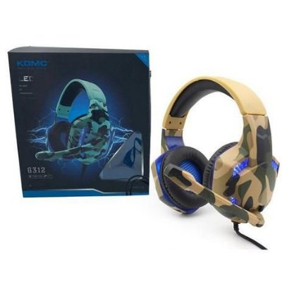 Fone de Ouvido Headset Gamer G312 Militar - Concise Fashion Style