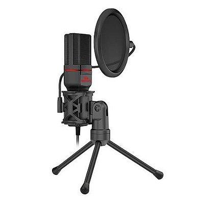 Microfone Redragon Seyfert Gamer Streamer GM100