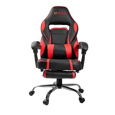 Cadeira Gamer Goldentec GT Red Reclinável