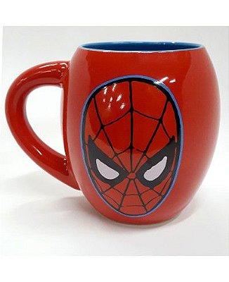 Caneca Oval Homem Aranha Marvel