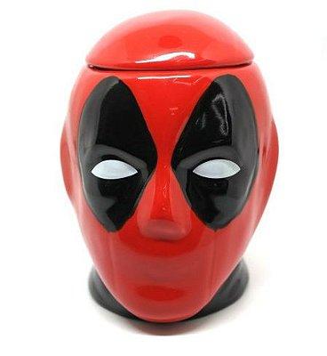 Caneca com Formato Deadpool 3D