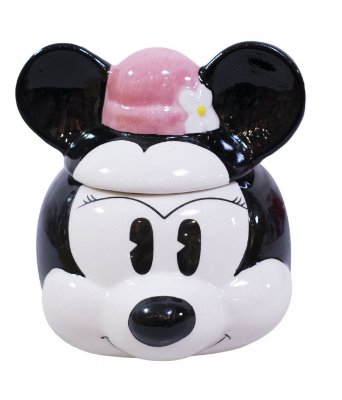 Caneca com tampa Minnie Disney
