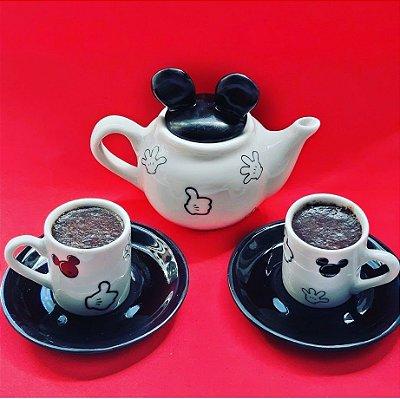 Kit Bule e Xícaras Mickey e Minnie