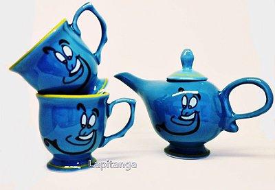 kit de chá Aladin - Gênio da Lampada