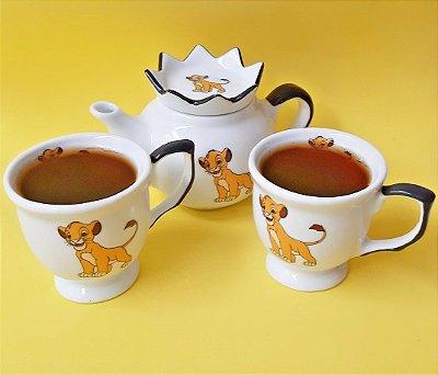 Kit de Chá O Rei Leão