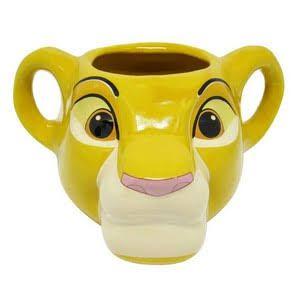 Caneca Simba 3D Rei Leão