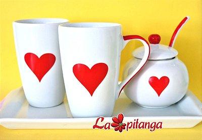 Kit Café da Manhã Apixonado